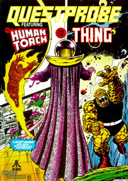 Questprobe: The Human Torch & the Thing