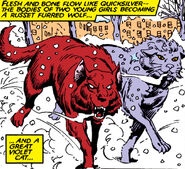 Rahne Sinclair (Earth-616) and Sharon Smith (Earth-616) from New Mutants Vol 1 39 001