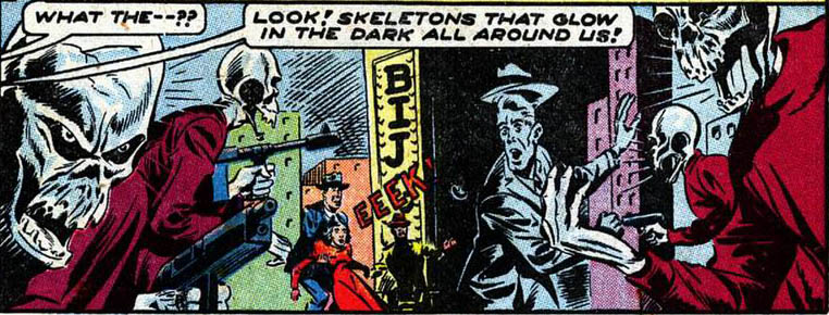 Skeletons of the Glowing Death (Earth-616)/Gallery