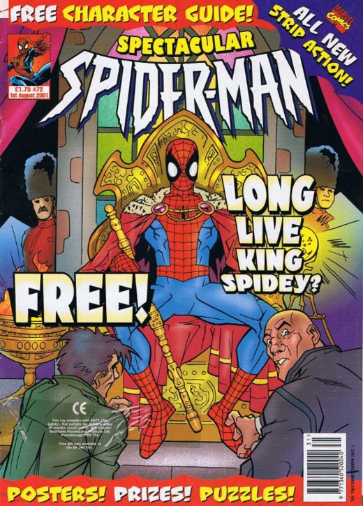 Spectacular Spider-Man (UK) Vol 1 72