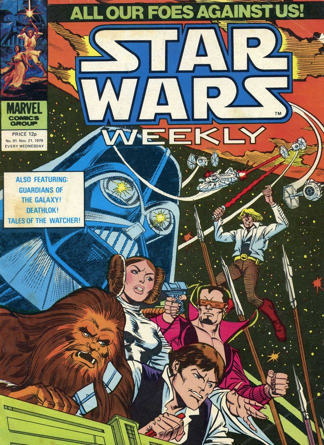 Star Wars Weekly (UK) Vol 1 91