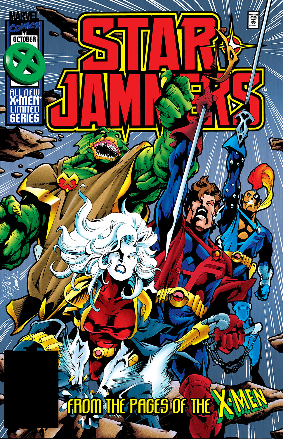 Starjammers Vol 1 1