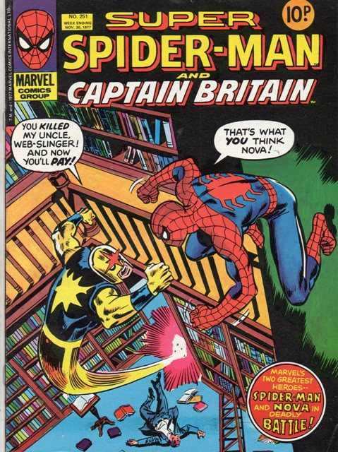 Super Spider-Man & Captain Britain Vol 1 251