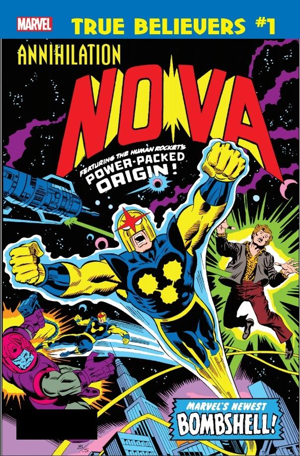 True Believers: Annihilation - Nova Vol 1 1