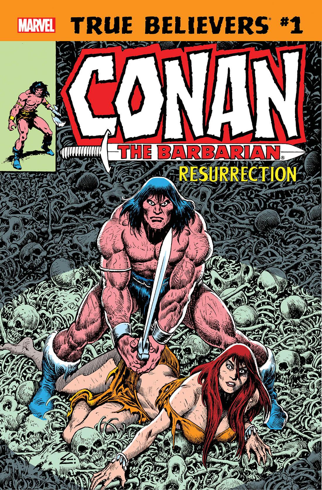 True Believers: Conan - Resurrection Vol 1 1