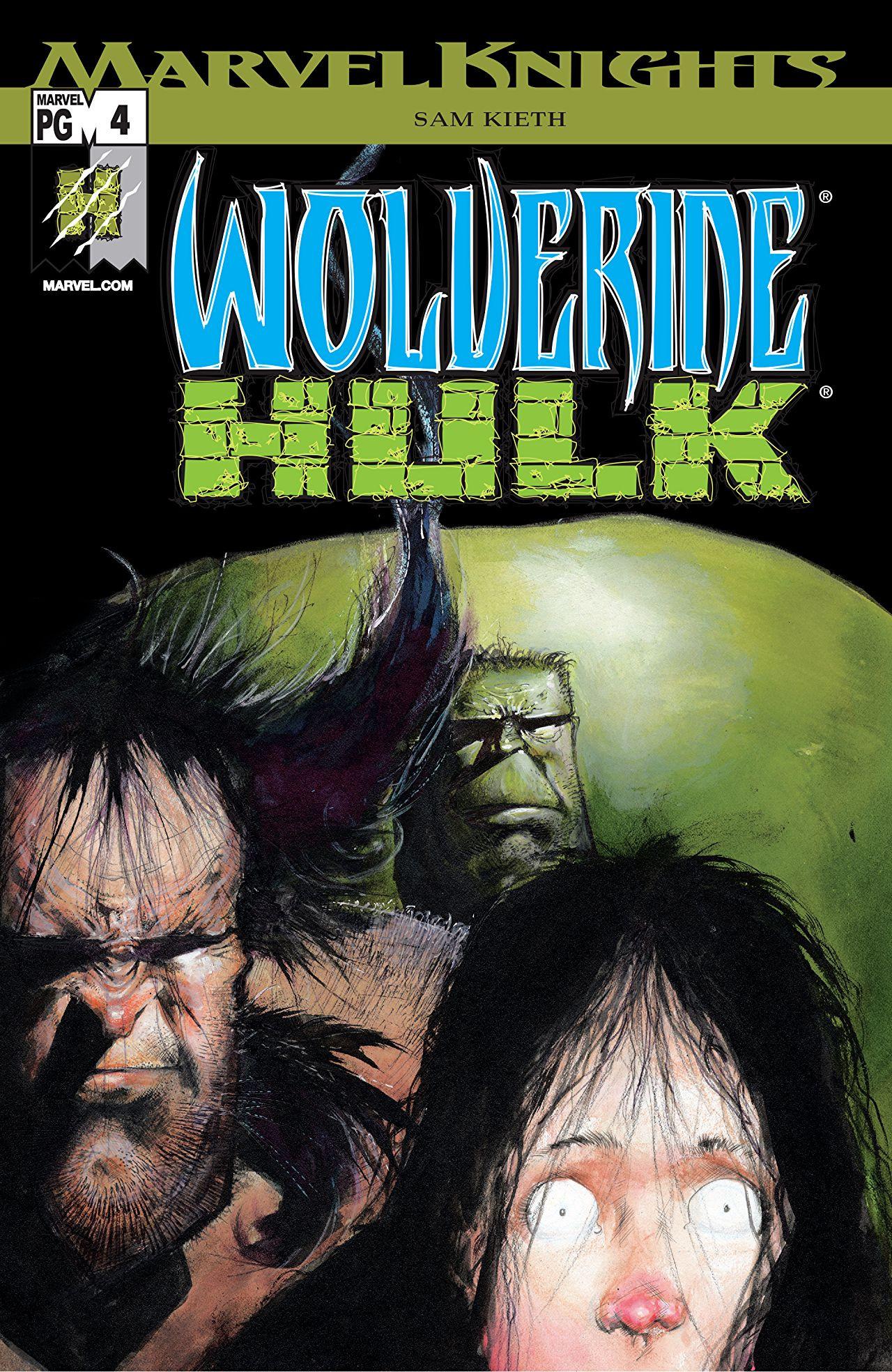 Wolverine/Hulk Vol 1 4