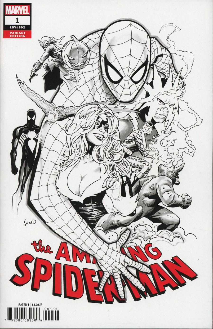 Amazing Spider-Man Vol 5 1 Party Sketch Variant.jpg