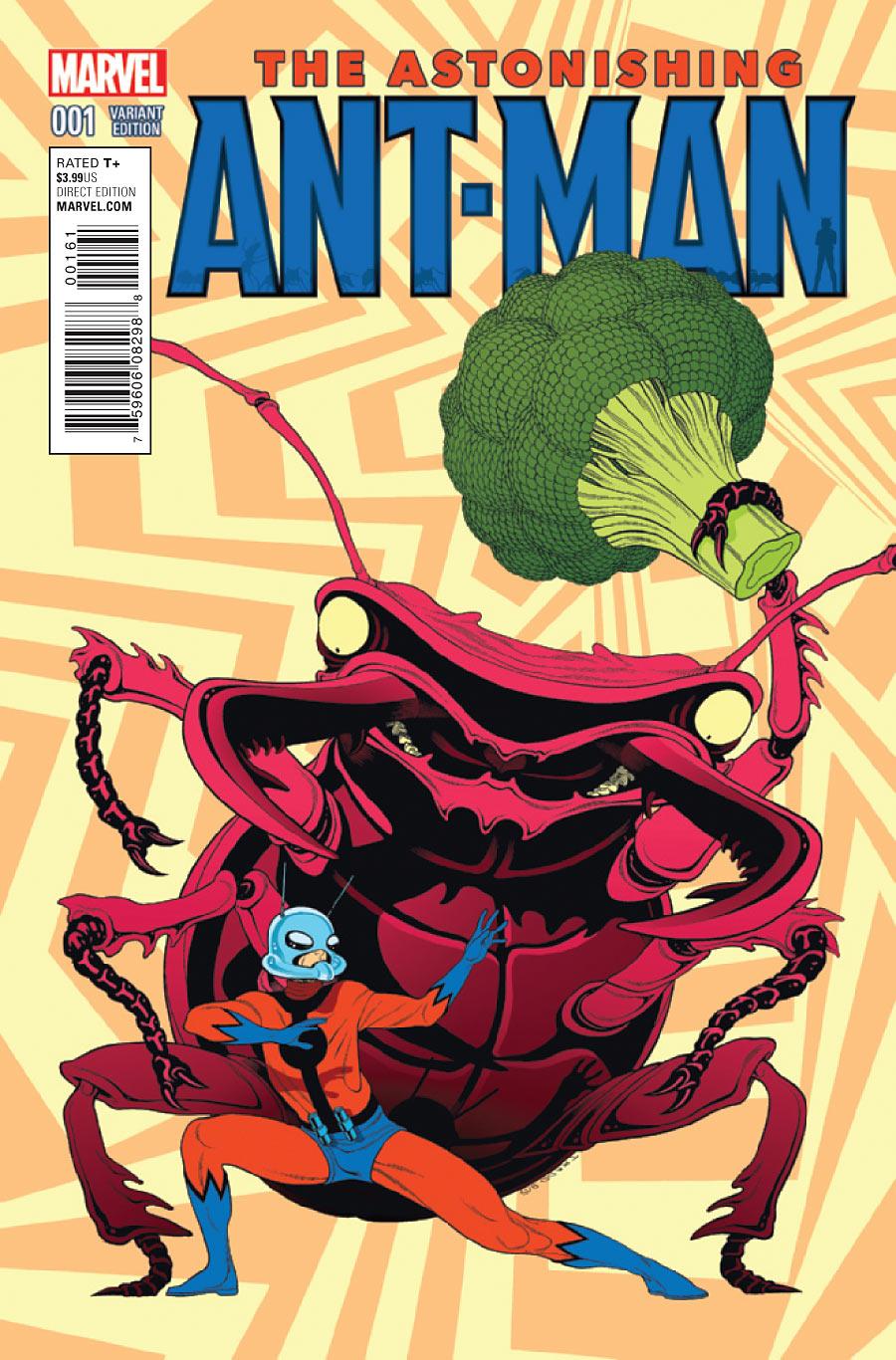 ASTONISHING ANT-MAN #1 MARVEL 2015 HIP-HOP VARIANT 1ST PRINT