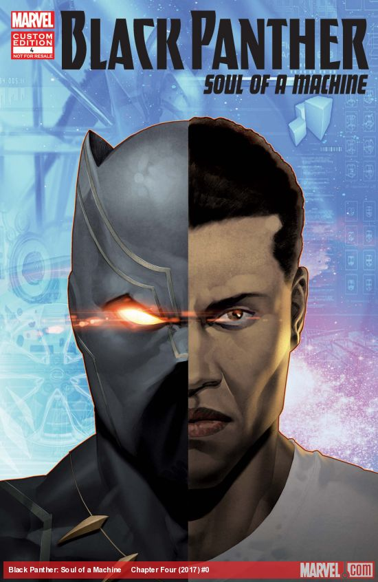 Black Panther: Soul of a Machine Vol 1 4