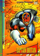 Brian Braddock (Earth-616) from Marvel Universe Cards Series IV 0001