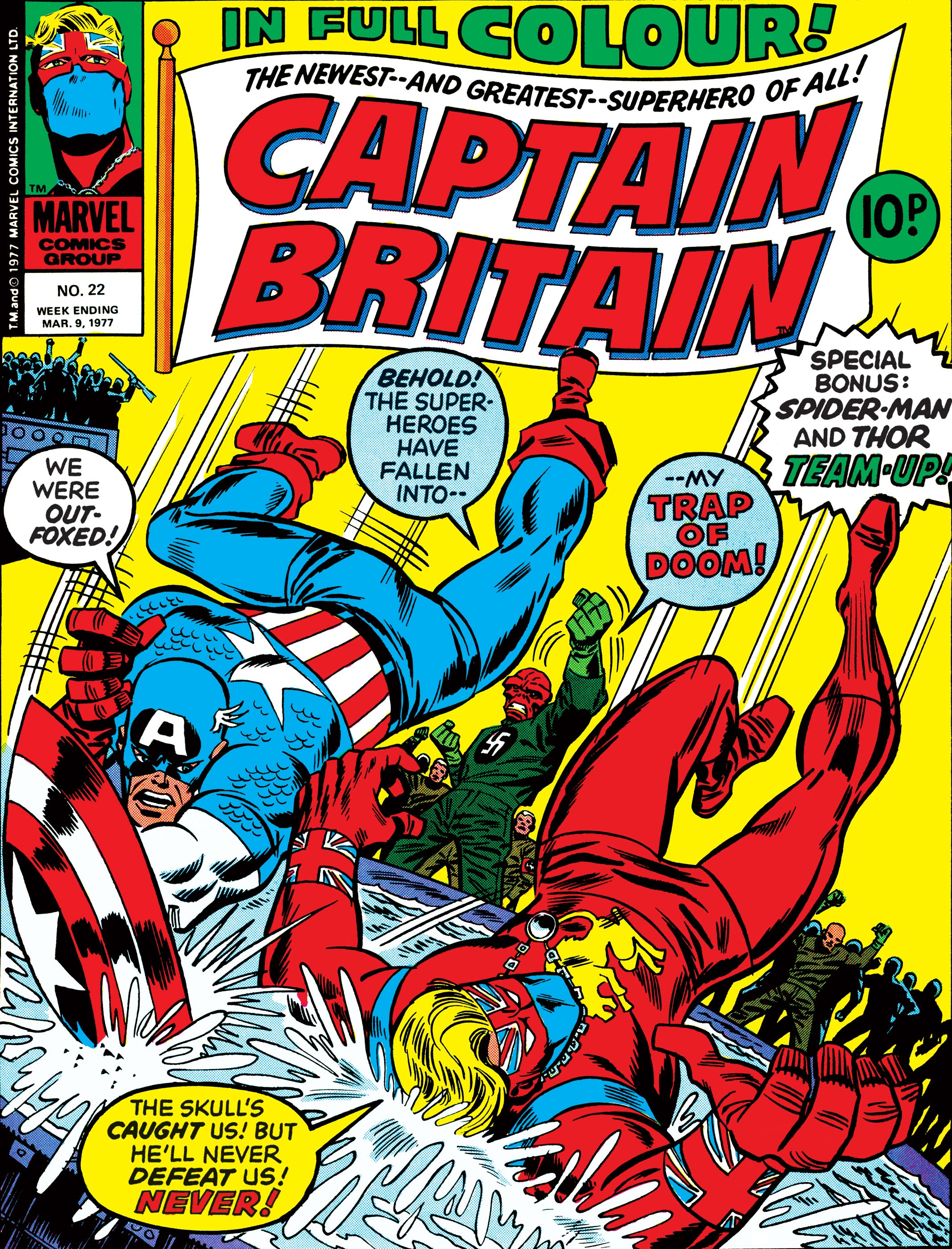 Captain Britain Vol 1 22