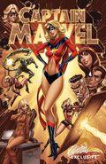 Captain Marvel Vol 10 1 JSC Exclusive Variant C