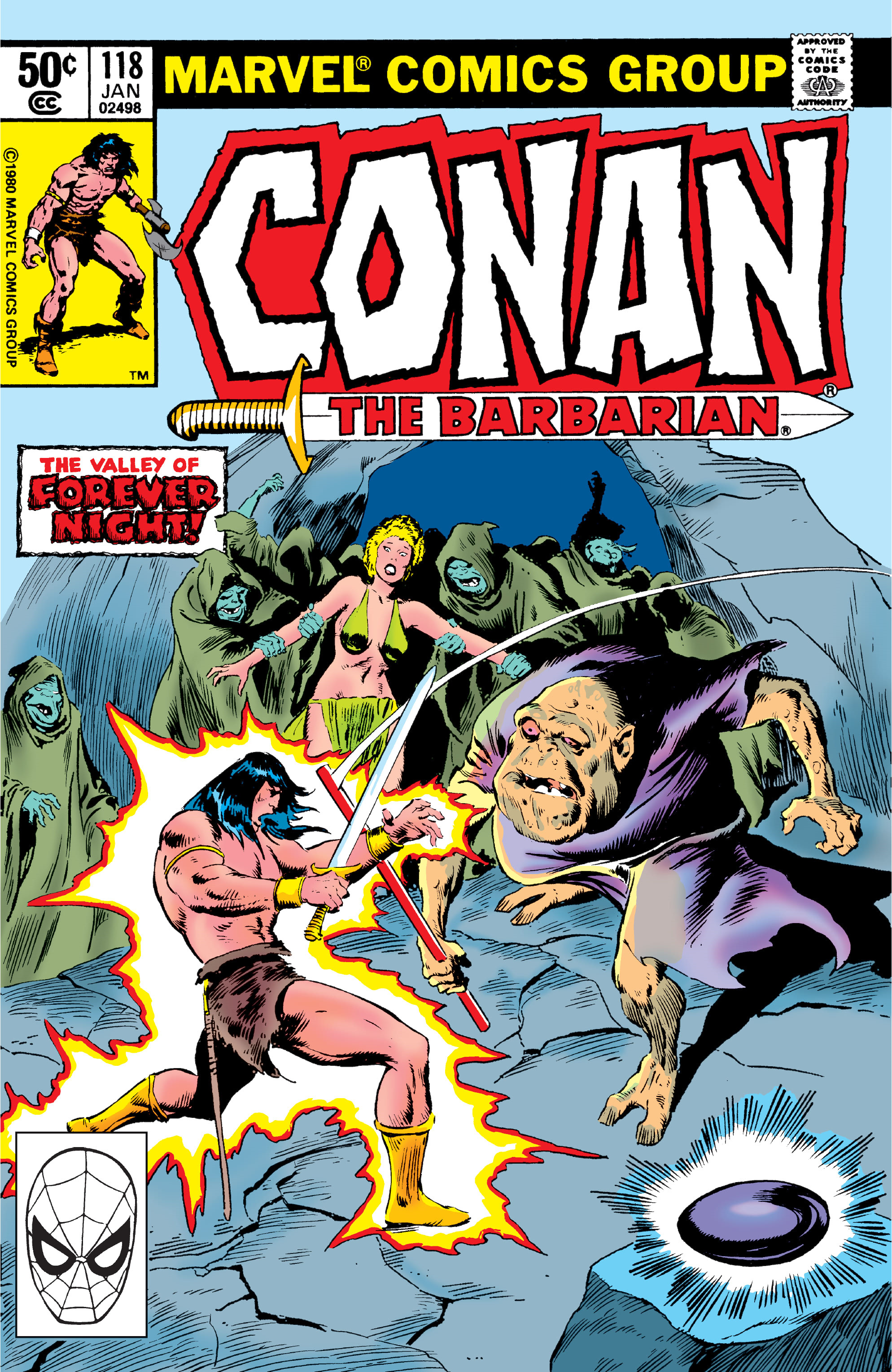 Conan the Barbarian Vol 1 118
