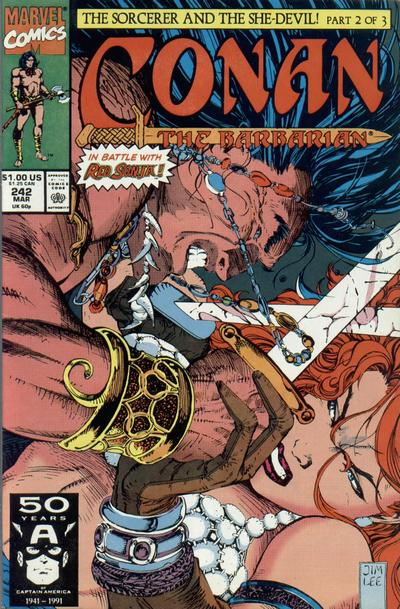 Conan the Barbarian Vol 1 242