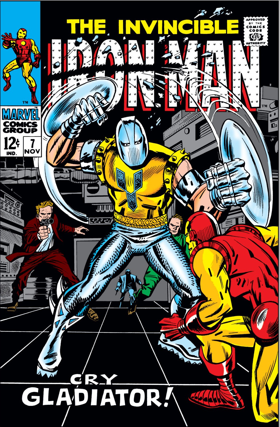 Iron Man Vol 1 7