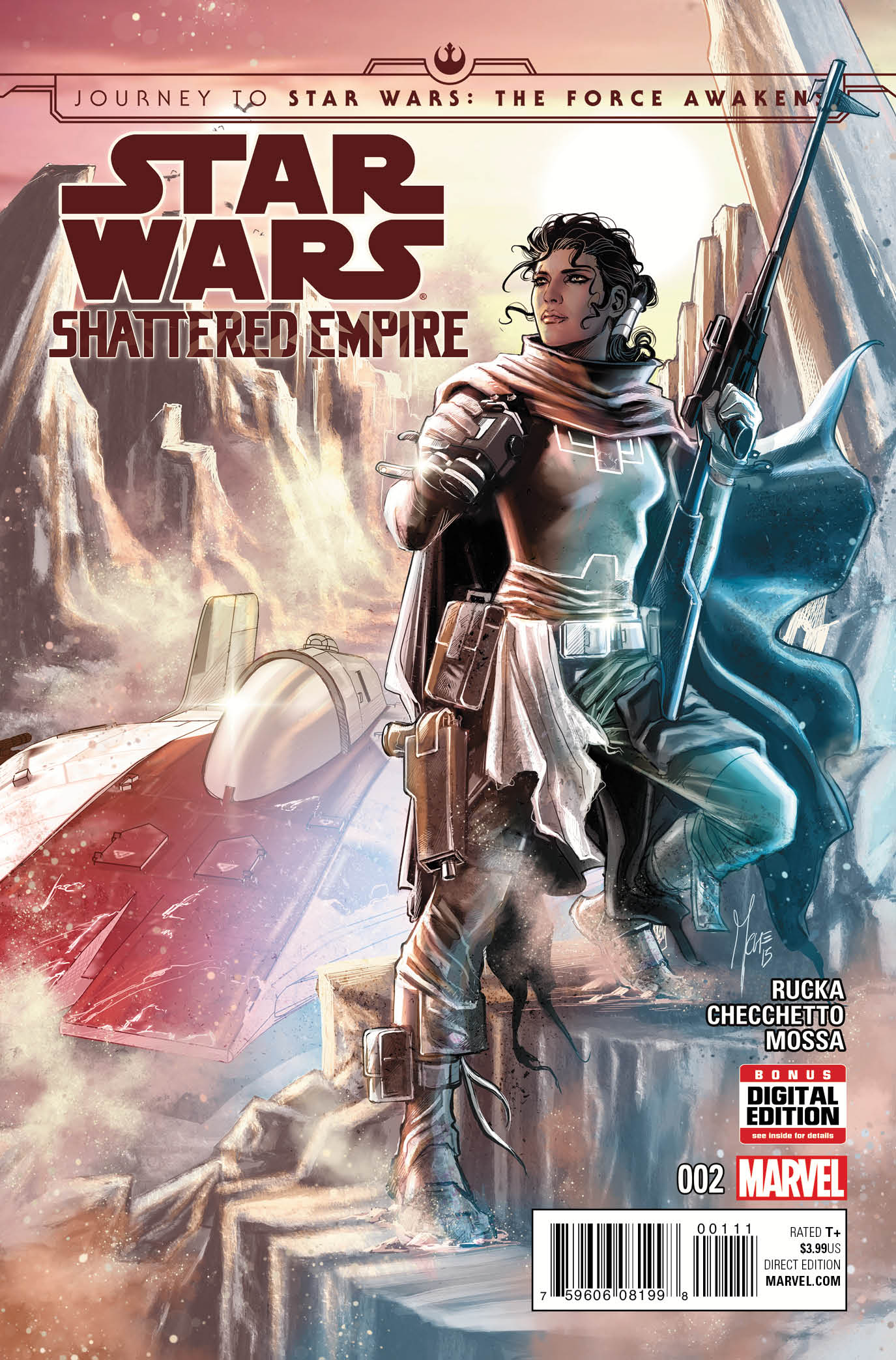 Journey to Star Wars: The Force Awakens - Shattered Empire Vol 1 2