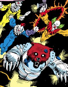 Killer Clowns (Earth-616) from Rocket Raccoon Vol 1 1 001.png