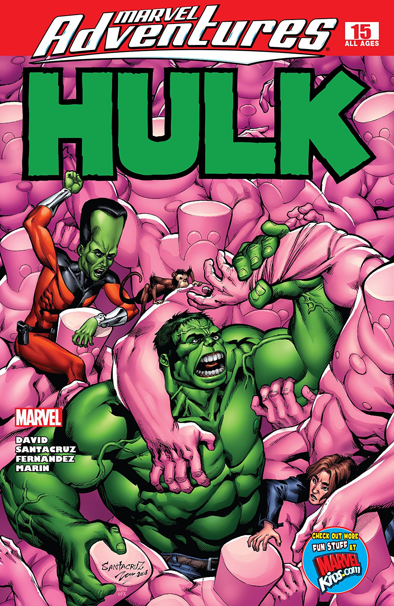 Marvel Adventures: Hulk Vol 1 15