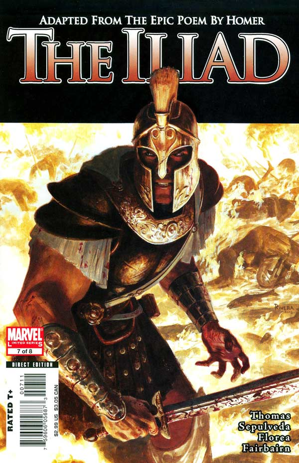 Marvel Illustrated: The Iliad Vol 1 7