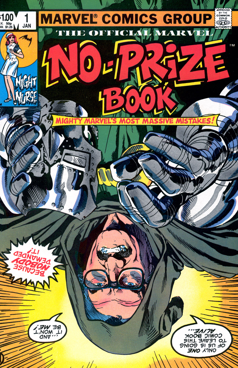 The Marvel No-Prize Book Vol 1 1