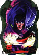 Max Einsehardt (Earth-616) from Ultra X-Men (Trading Cards) 1995 Hunters & Stalkers 0001