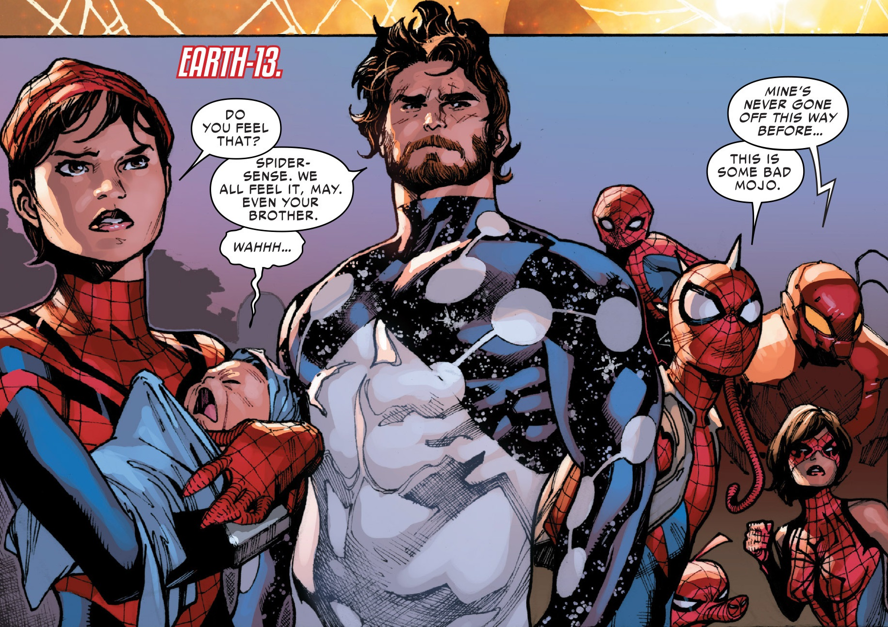 Spider-Army (Multiverse) from Amazing Spider-Man Vol 3 11 005.jpg