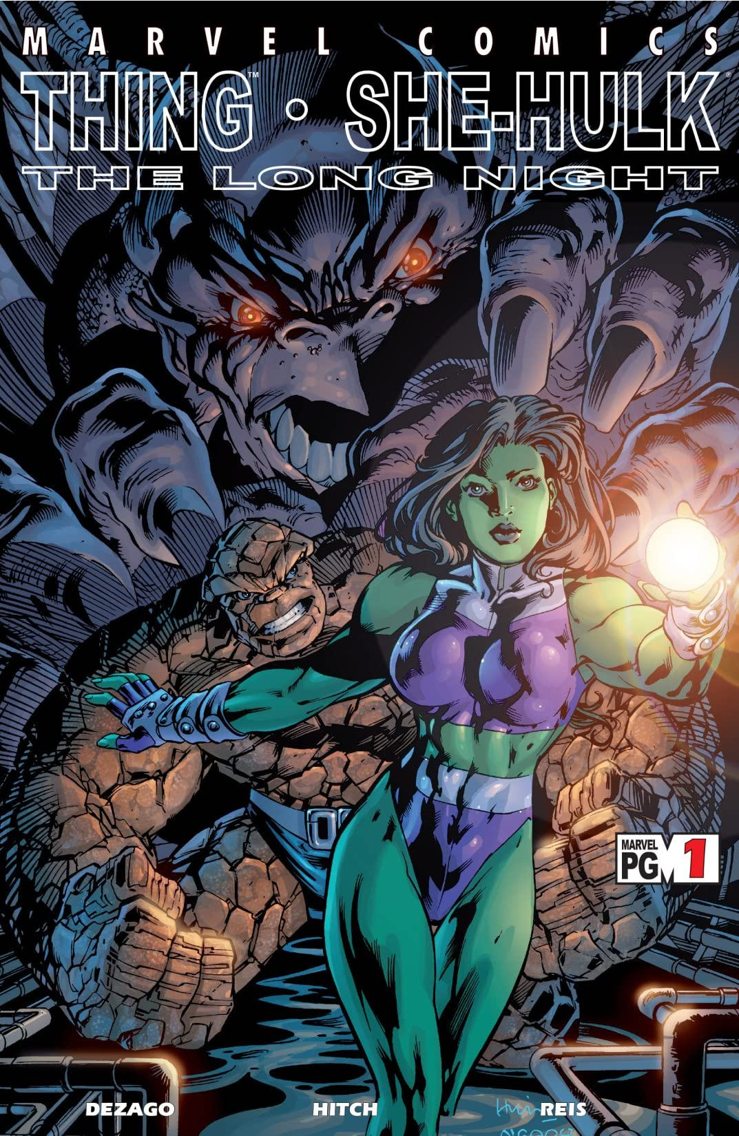 Thing/She-Hulk: The Long Night Vol 1 1