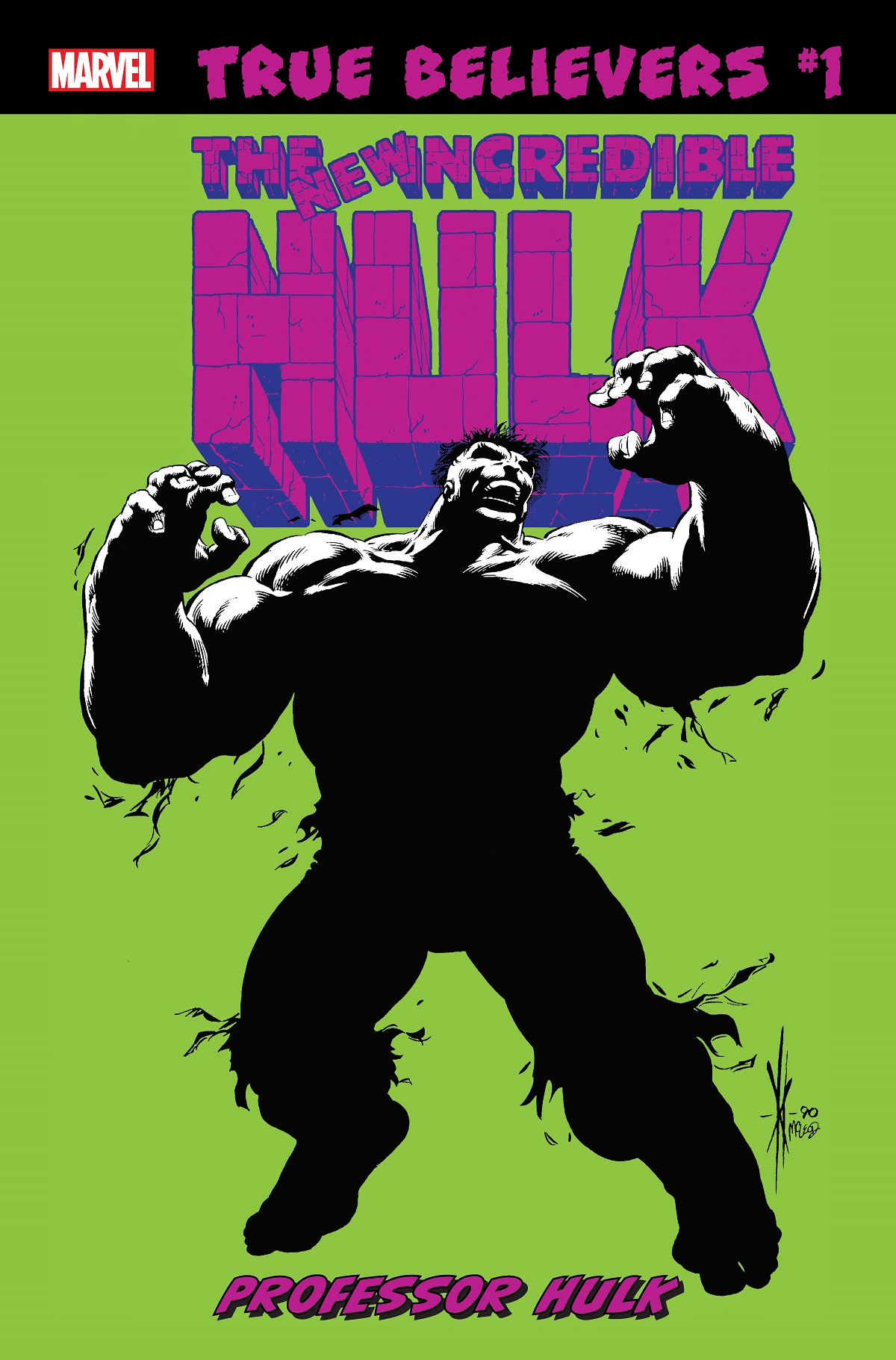 True Believers: Hulk - Professor Hulk Vol 1 1