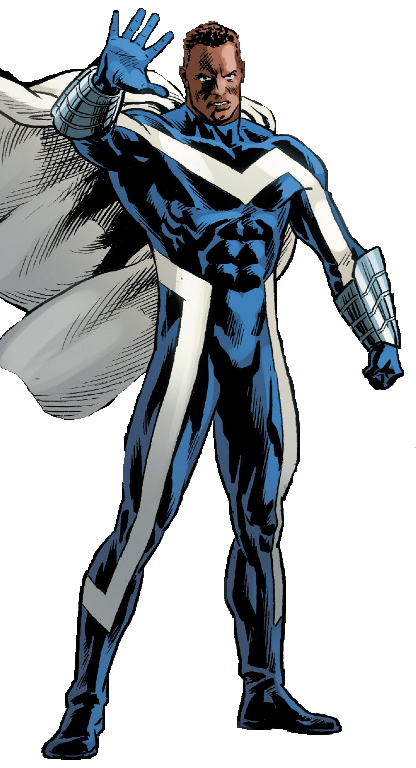Blue Marvel's Suit