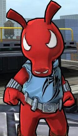 Benjamin Reilly (Scarlet Spider-Ham) (Earth-TRN461) from Spider-Man Unlimited (video game) 001.jpg