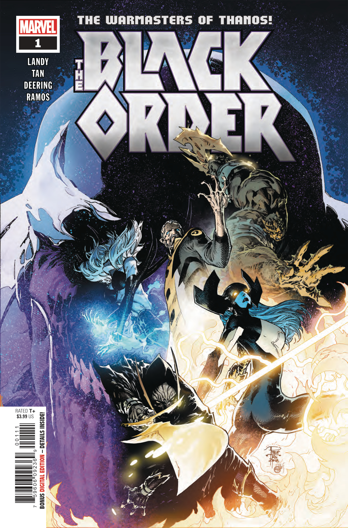 Black Order Vol 1