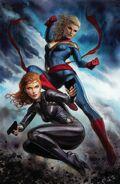 Captain Marvel Vol 10 6 Granov Virgin Variant