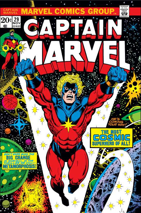 Captain Marvel Vol 1 29