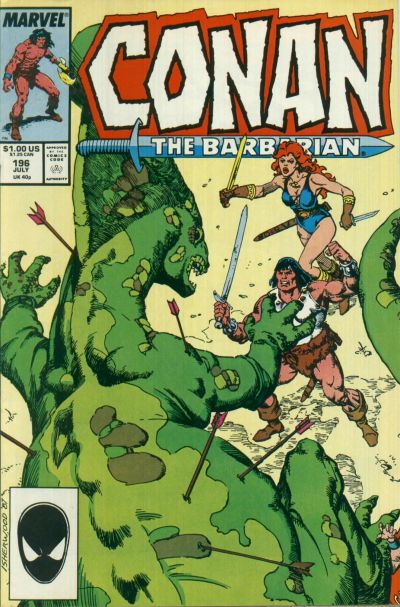 Conan the Barbarian Vol 1 196