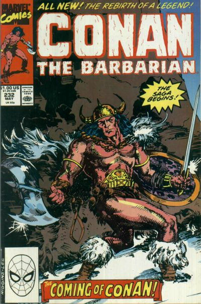 Conan the Barbarian Vol 1 232