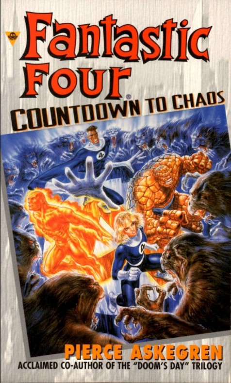 Fantastic Four: Countdown To Chaos (Novel)