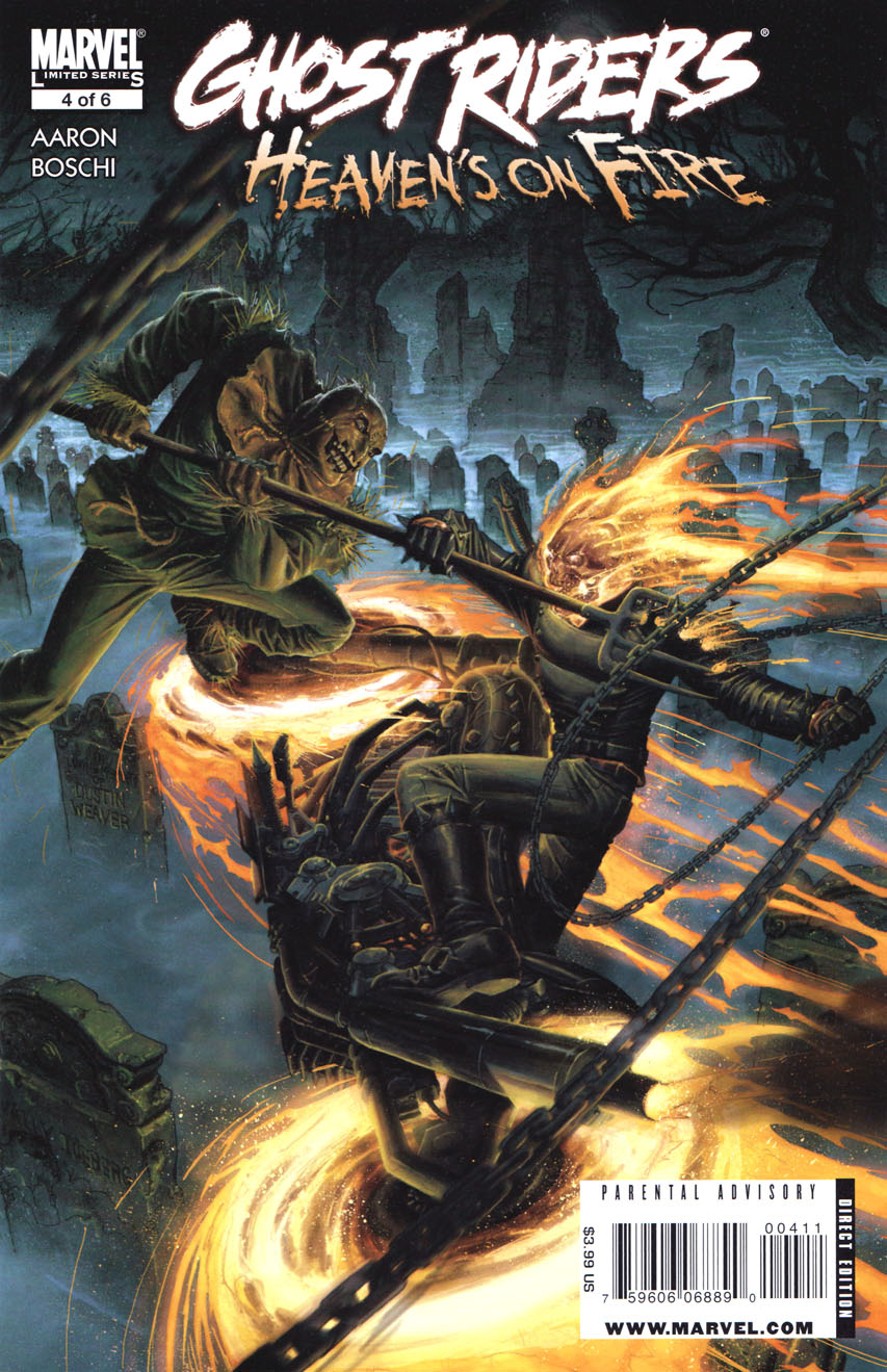 Ghost Riders: Heaven's on Fire Vol 1 4