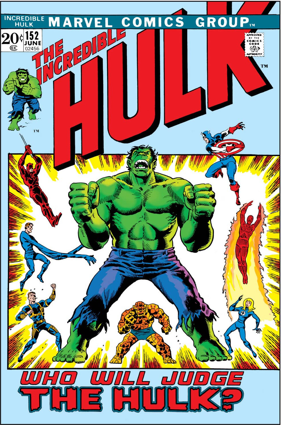 Incredible Hulk Vol 1 152