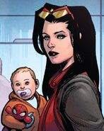 Jessica Drew (Earth-616) and Gerald Drew (Earth-616) from Defenders Vol 5 10 001