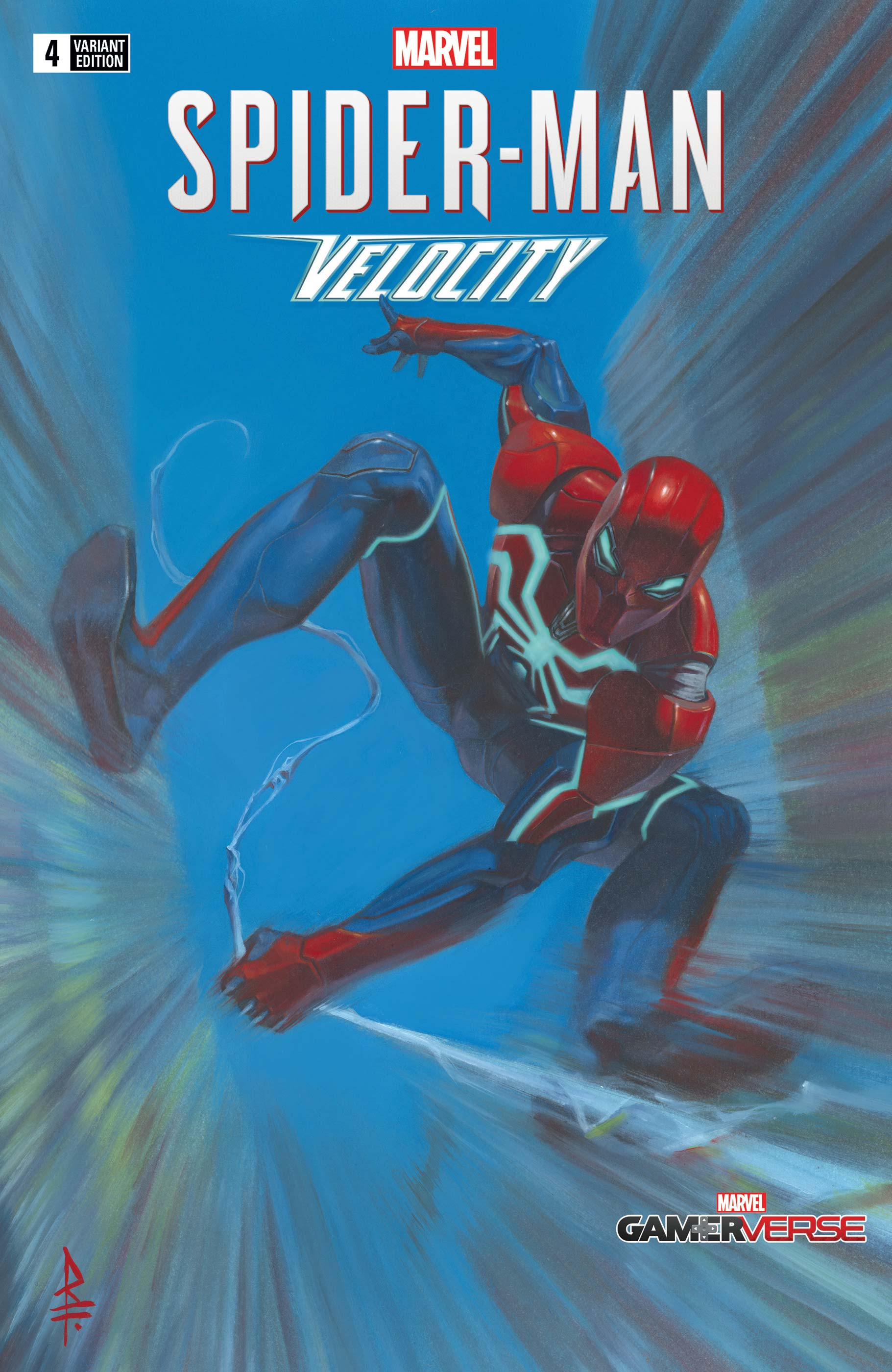 Marvel's Spider-Man Velocity Vol 1 4 Federici Variant.jpg