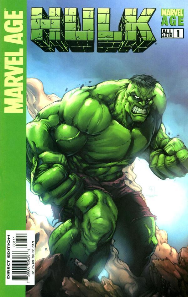 Marvel Age: Hulk Vol 1 1