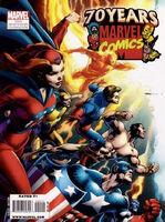 Marvel Comics 70th Anniversary Celebration Magazine Vol 1 1