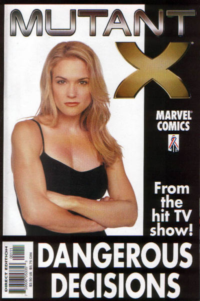 Mutant X: Dangerous Decisions Vol 1 1