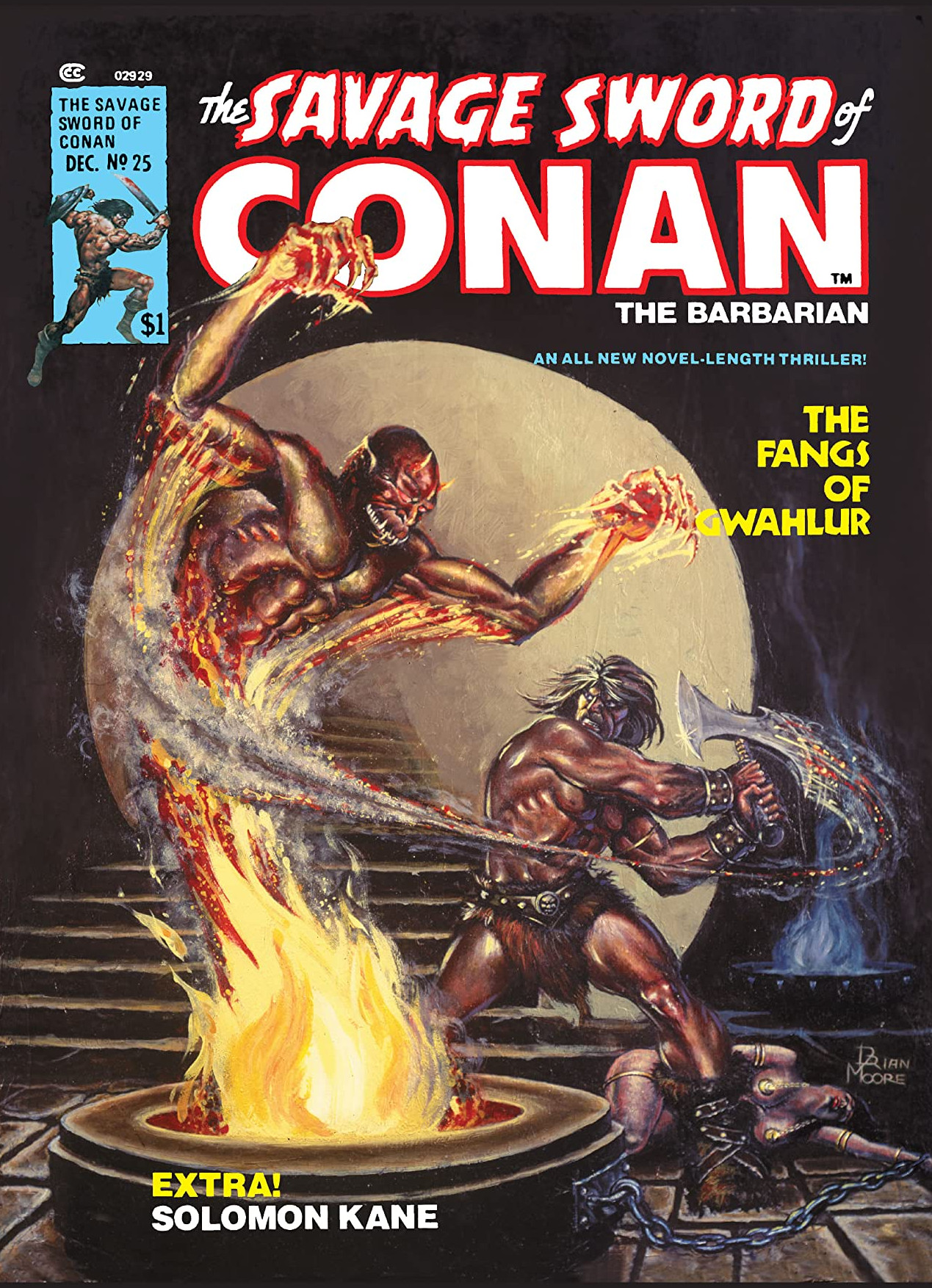 Savage Sword of Conan Vol 1 25