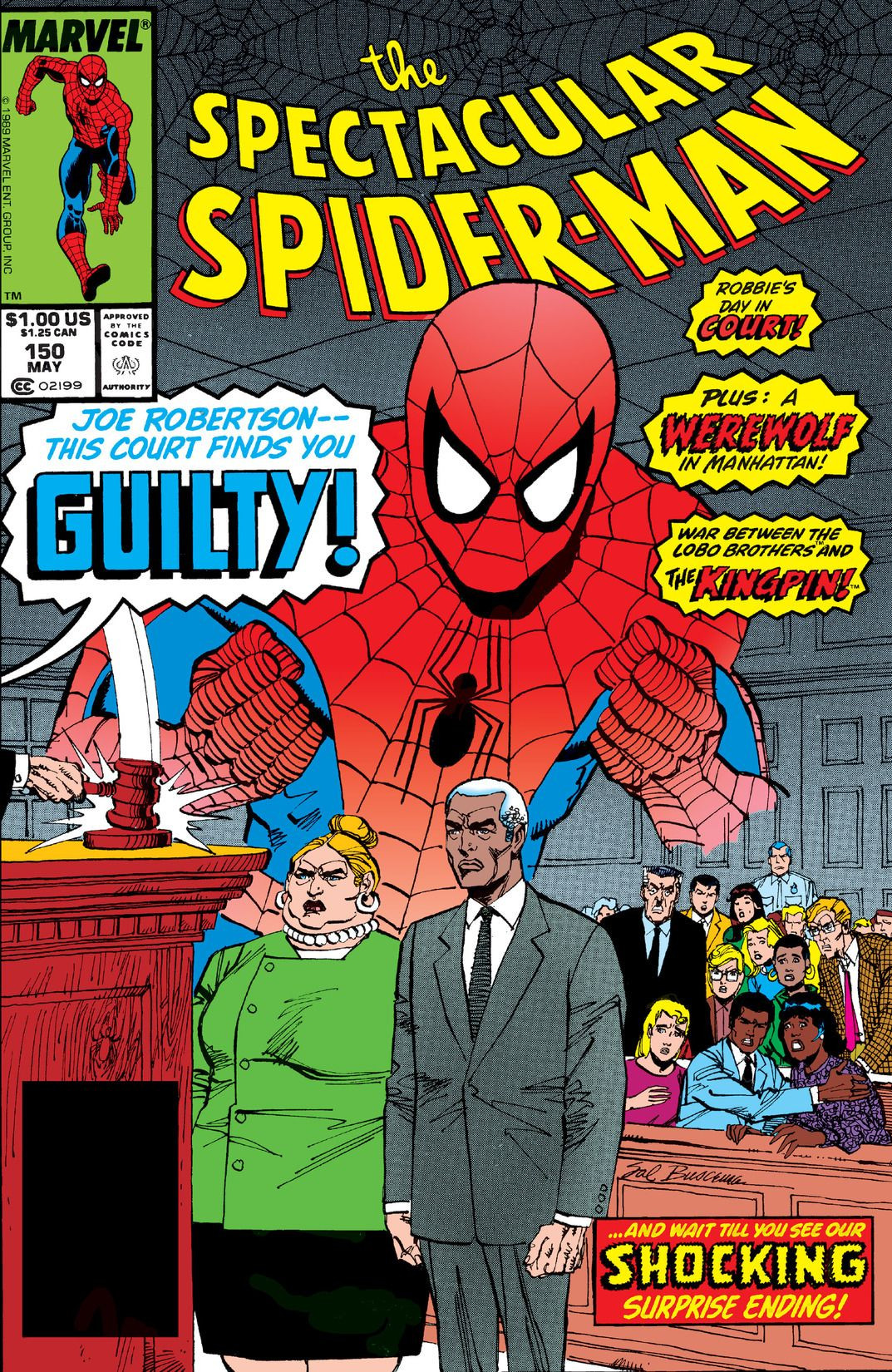 Spectacular Spider-Man Vol 1 150