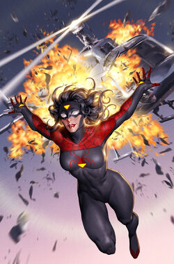 Spider-Woman Vol 7 1 New Costume Cover Textless.jpg