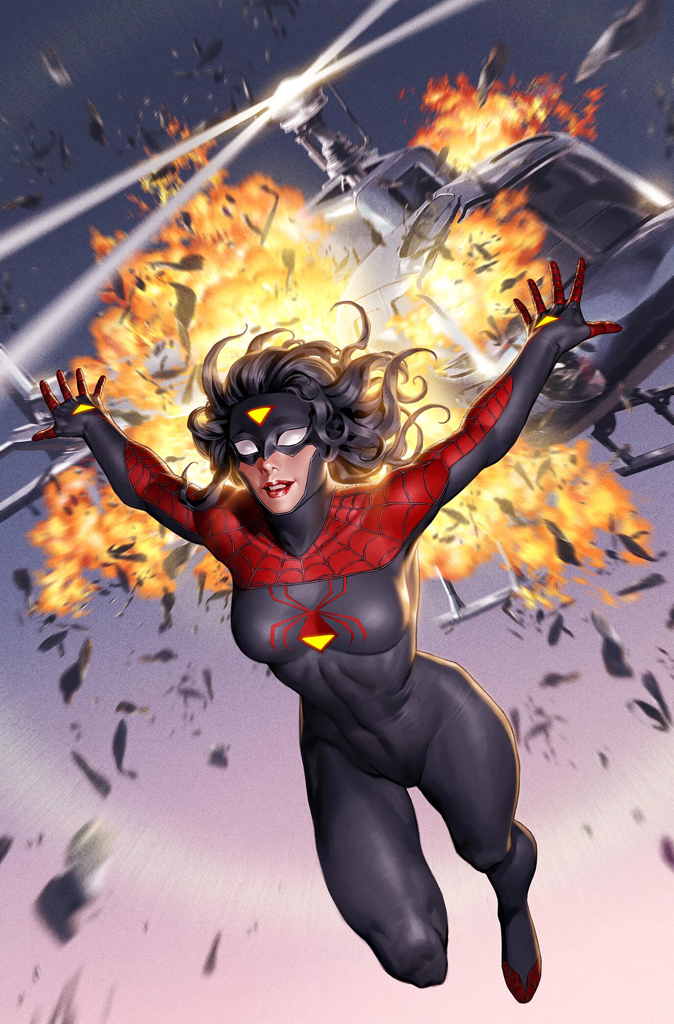 Spider-Woman's Suit