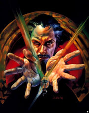 Stephen Strange (Earth-616) from Marvel Masterpieces (Trading Cards) 1996 001.jpg