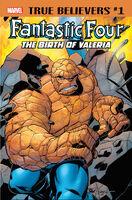 True Believers Fantastic Four - The Birth of Valeria Vol 1 1