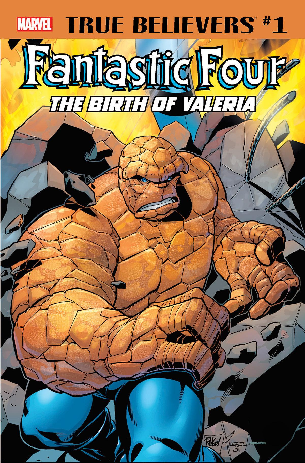 True Believers: Fantastic Four - The Birth of Valeria Vol 1 1